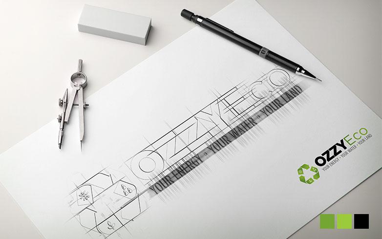 OzzyEco – Logo Design
